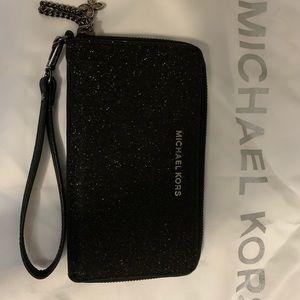 Large Black Sparkled Michael Kors Wallet